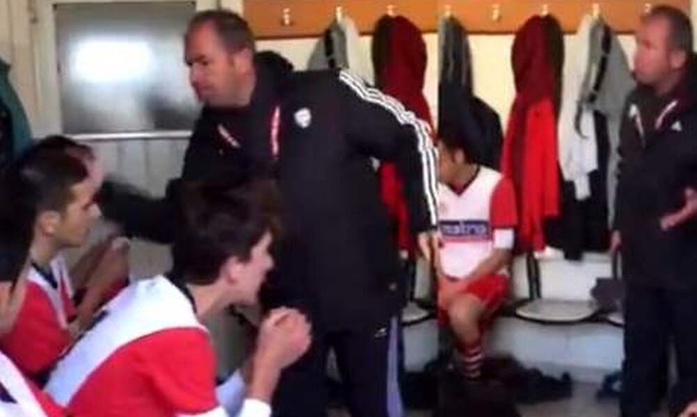 Σάλος στην Τουρκία με προπονητή ομάδας Νέων - Έπεσαν σφαλιάρες στα αποδυτήρια! (video&photos)