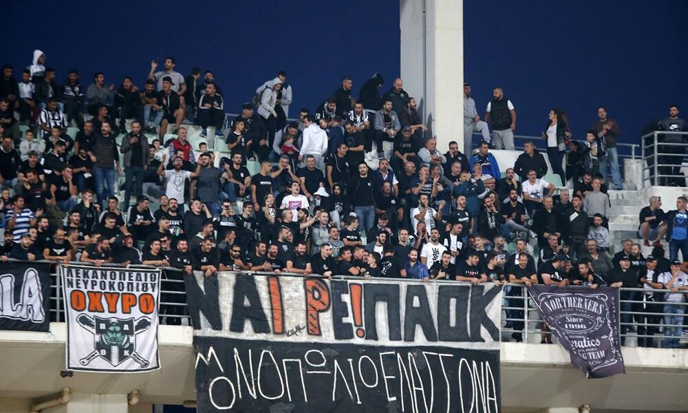 Βόλος-ΠΑΟΚ: Ένταση έξω από το Πανθεσσαλικό (photo)