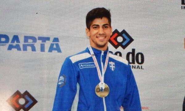 Παγκόσμιος πρωταθλητής Κ21 στο καράτε ο Ξένος