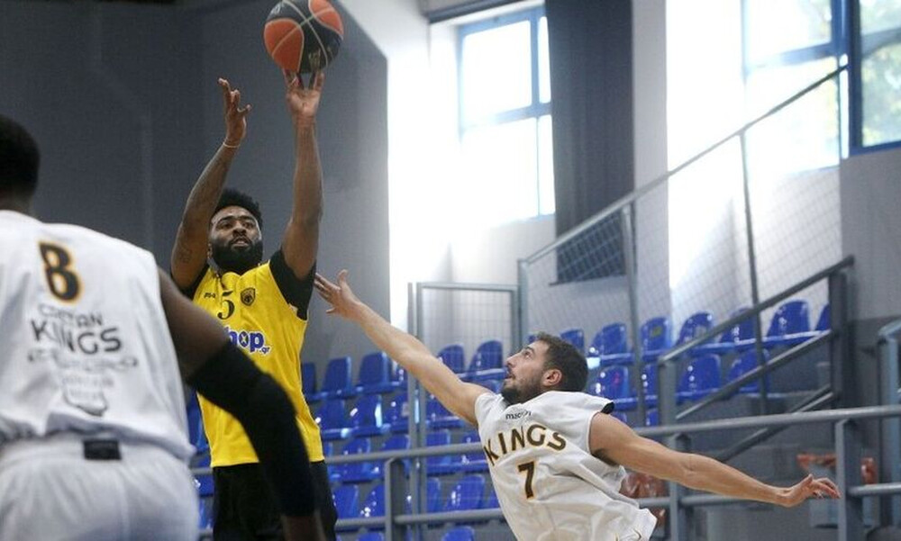 Basket League: Δοκιμασία στην Κρήτη για ΑΕΚ