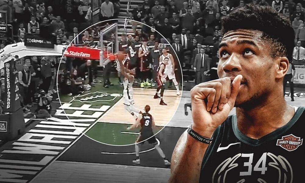 NBA: Στην κορυφή του Top-10 ο Γιάννης! (video)