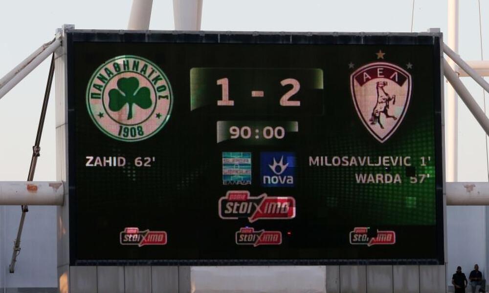 Παναθηναϊκός – Λάρισα 1-2: Τα γκολ και τα highlights του αγώνα (video)