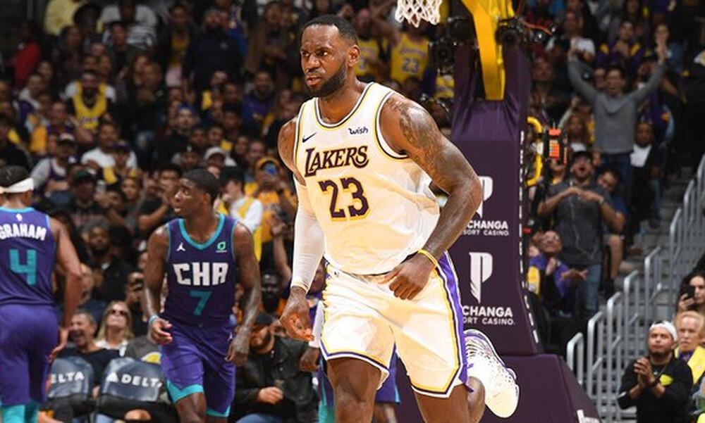 NBA: Aνεβαίνουν οι Λέικερς (photos+video)