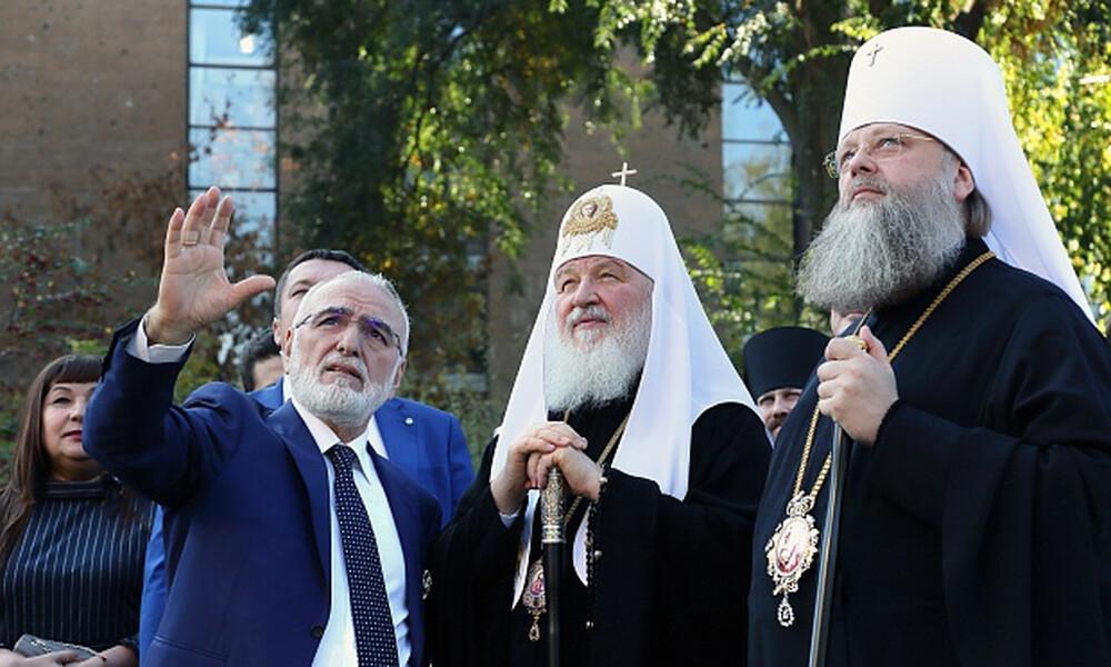 ΠΑΟΚ: Βράβευση Σαββίδη από τον Πατριάρχη Μόσχας (photos)