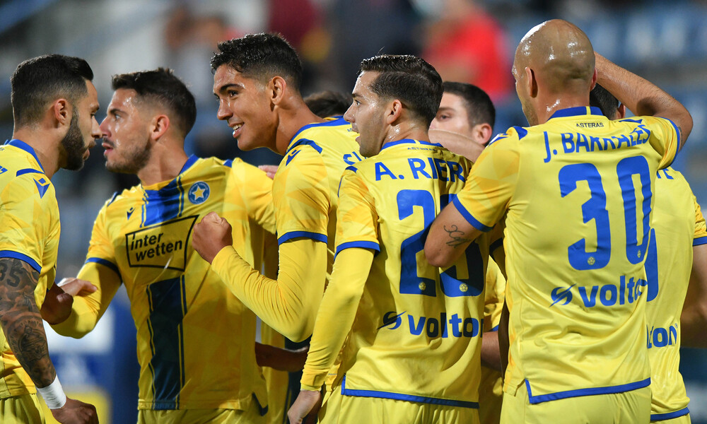 Αστέρας Τρίπολης-Λαμία 4-1: Έλαμψε με ρεκόρ Μπαράλες (photos)