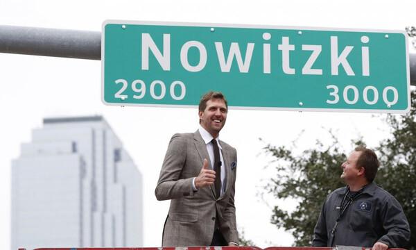 Δρόμος του Ντάλας μετονομάστηκε σε Ντιρκ Νοβίτσκι (video)