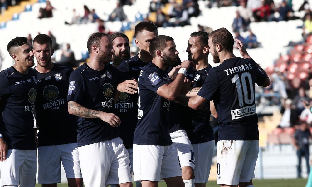 Super League 2: Ακάθεκτος ο Απόλλωνας Σμύρνης, μοιρασιά στα Χανιά