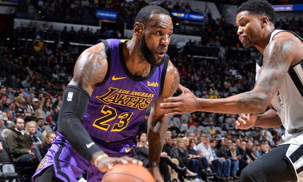 NBA: Οδηγεί τους Λέικερς ο Λεμπρόν (video)