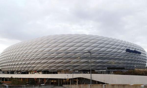 Μπάγερν Μονάχου-Ολυμπιακός: Η επιβλητική «Allianz Arena» (video+photos)