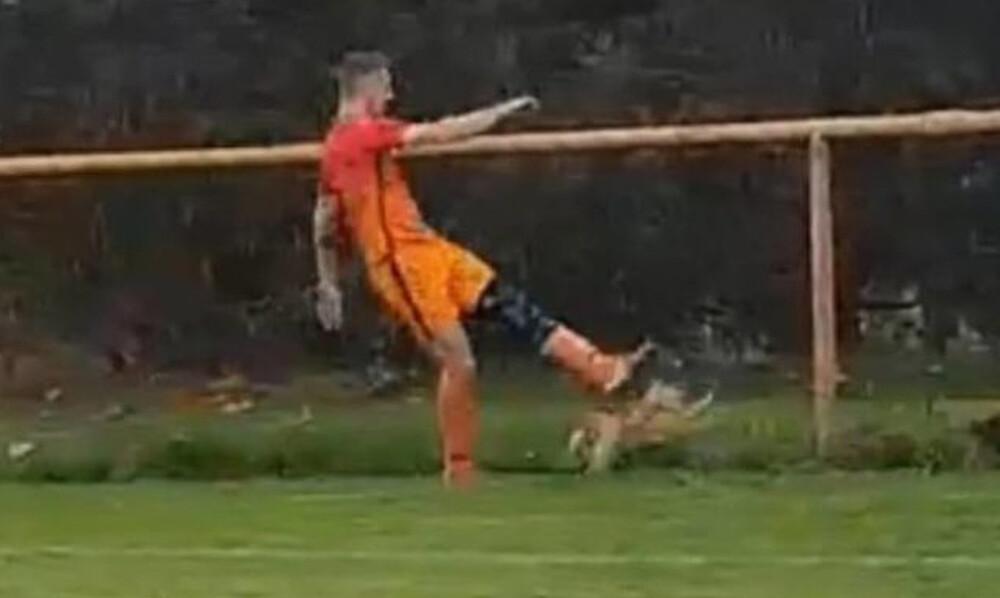 Σάλος σε ποδοσφαιρικό ματς: Παίκτης σκότωσε κότα την ώρα του αγώνα! (σκληρές εικόνες)