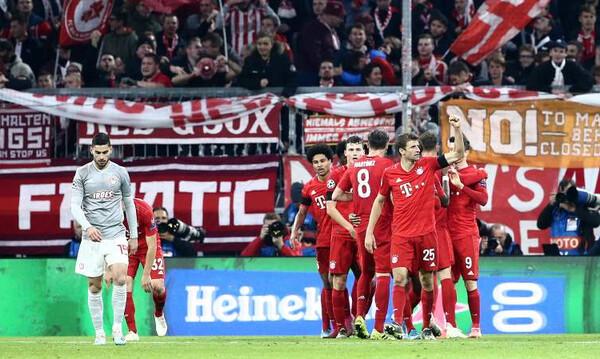 Μπάγερν Μονάχου-Ολυμπιακός: Ο Λεβαντόφσκι «νίκησε» τον Σα και ξέσπασε (video)