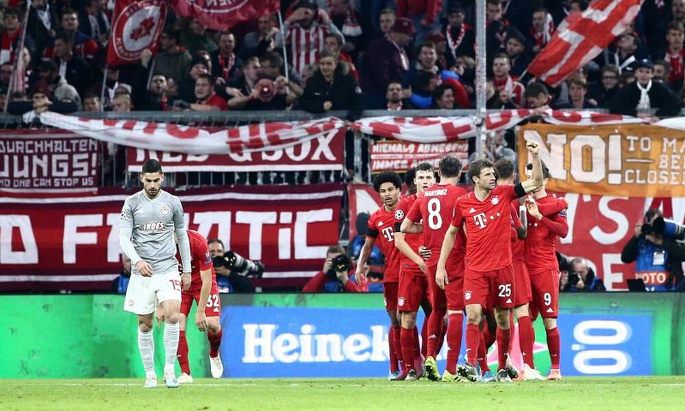 Μπάγερν Μονάχου – Ολυμπιακός 2-0: Η ποιότητα «λύγισε» τον Σα (video+photos)