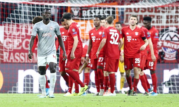 Μπάγερν Μονάχου – Ολυμπιακός 2-0: Τα highlights του αγώνα στο Μόναχο (video)