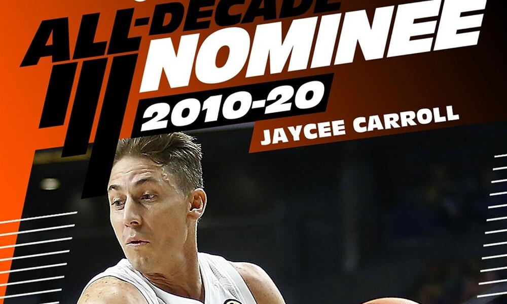 Euroleague: Υποψήφιος για την καλύτερη ομάδα της 10ετίας ο Τζέισι Κάρολ (video)