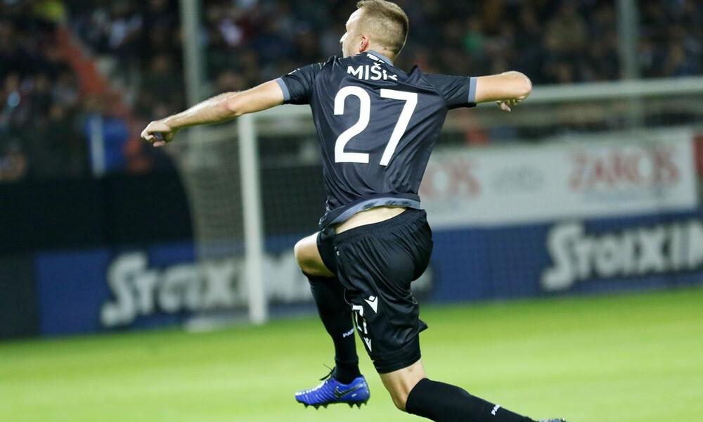 Το μήνυμα του Μίσιτς για το μέλλον του στον ΠΑΟΚ