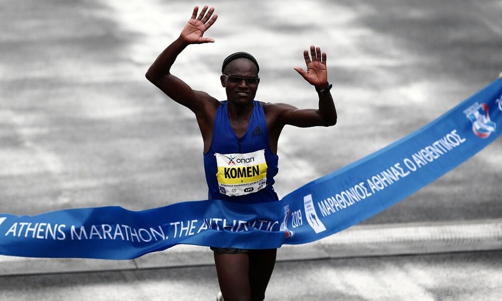 Κλασικός Μαραθώνιος Αθήνας: 42χρονος Κενυάτης ο νικητής!