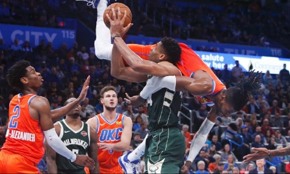 NBA: Νίκη για Μπακς με… αγριεμένο Αντετοκούνμπο (photos+video)