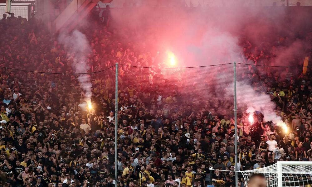Το… κράξιμο των οπαδών της ΑΕΚ στους παίκτες: «Ξεφτιλίζετε τη φανέλα»