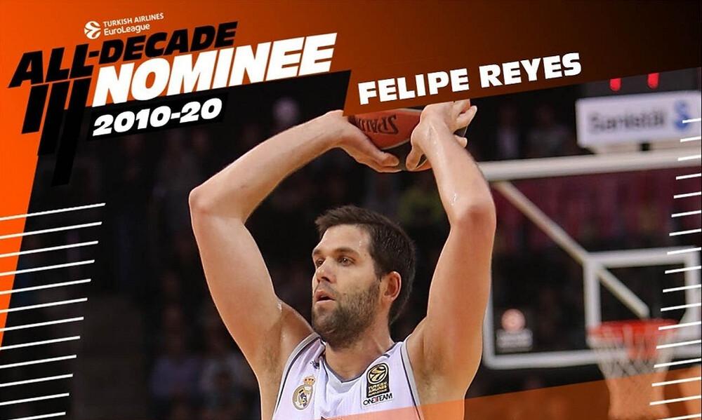 Euroleague: Υποψήφιος για την ομάδα της 10ετίας ο Φελίπε Φέγιες (video)