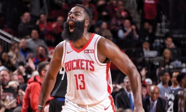 NBA: Η τρομερή παράσταση του Χάρντεν! (video)