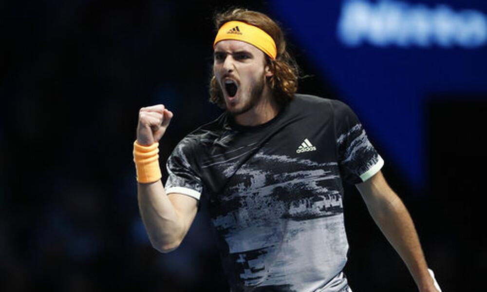 ATP FINALS: Το πάλεψε αλλά λύγισε ο Τσιτσιπάς (photos)