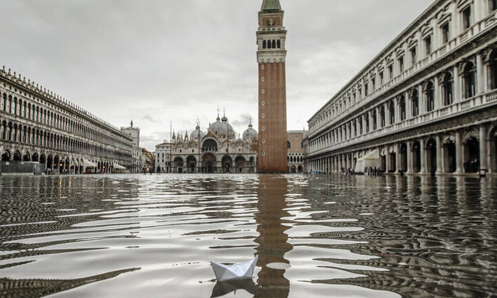 Βενετία: Περιφερειακό συμβούλιο πλημμύρισε αμέσως μόλις απέρριψε μέτρα για την κλιματική αλλαγή