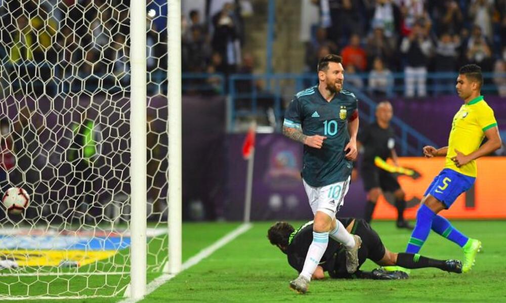 Βραζιλία – Αργεντινή 0-1: Ο Μέσι γύρισε και «καθάρισε»! (video)