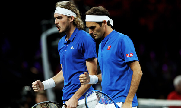 ATP Finals: Με Φέντερερ στους «4» ο Tσιτσιπάς