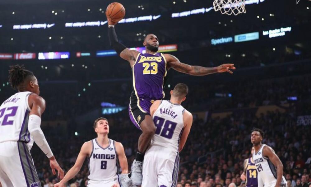 NBA: Τον «πέρασε» από πάνω... ο Βασιλιάς! (video)