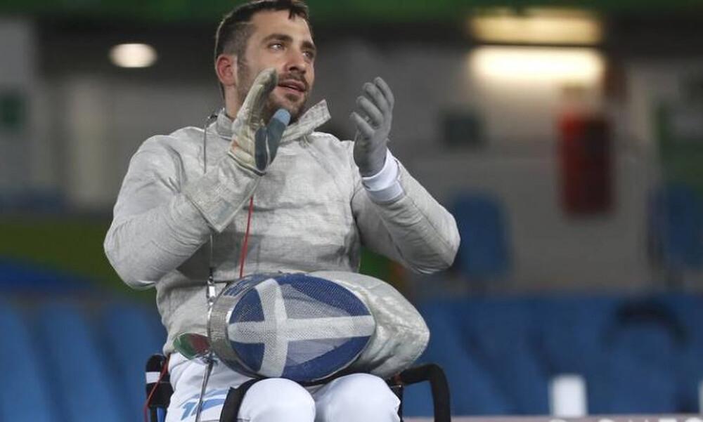 Χρυσό μετάλλιο ο Πάνος Τριανταφύλλου στο Παγκόσμιο Κύπελλο ξιφασκίας με αμαξίδιο