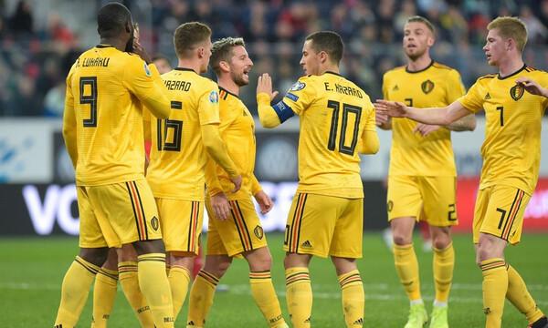 Προκριματικά Euro 2020: «Ντόρτια» Βελγίου με τη Ρωσία (videos)