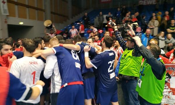 EHF Cup ανδρών: Ελπίζει σε πρόκριση ο Ολυμπιακός παρά την ήττα