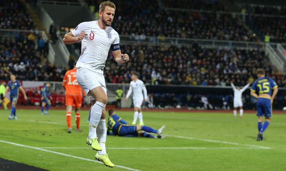 Προκριματικά Euro 2020: Εμφατική νίκη για Αγγλία (videos)