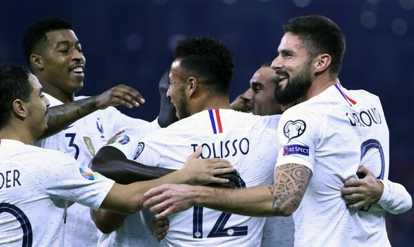 Προκριματικά Euro 2020: Πρώτη και καλύτερη η Γαλλία (videos)