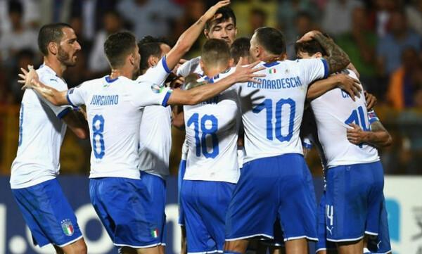 Προκριματικά Euro 2020: Σαρωτική η Ιταλία, τσέκαραν εισιτήριο Ελβετία-Δανία (videos)