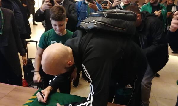 Ζαλγκίρις Κάουνας-Παναθηναϊκός ΟΠΑΠ: Η έκπληξη του Καλάθη σε μικρό φίλο της ομάδας (videos+photo)