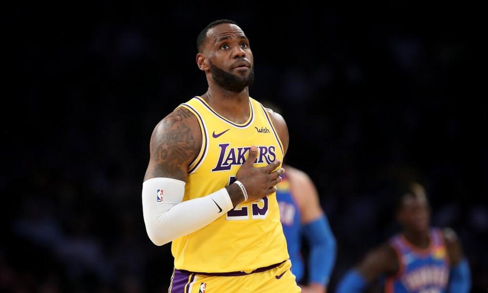 NBA: Απίθανο ρεκόρ από τον Λεμπρόν (videos)