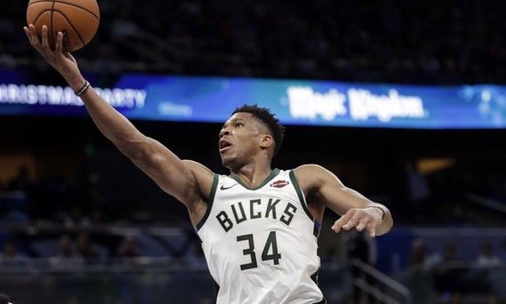 NBA: Η απίθανη εμφάνιση του Αντετοκούνμπο (videos+photos)