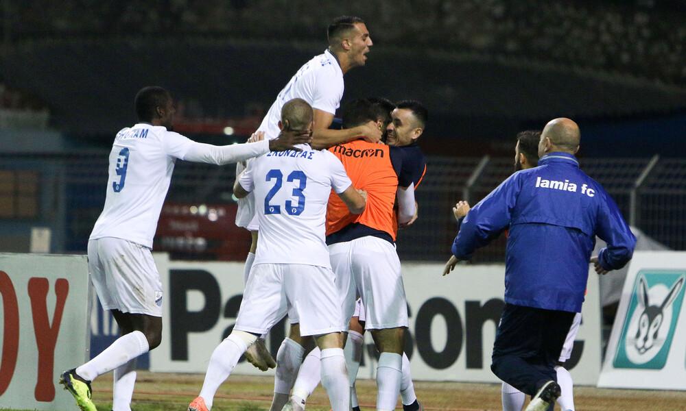 Λαμία-Ξάνθη 1-0: Τρίτωσε το καλό