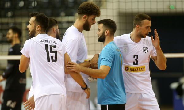 Volley League: Άνετη νίκη του ΠΑΟΚ με ΟΦΗ