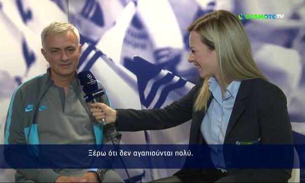 Ο Μουρίνιο είπε… Παναθηναϊκό τον Ολυμπιακό! (video)