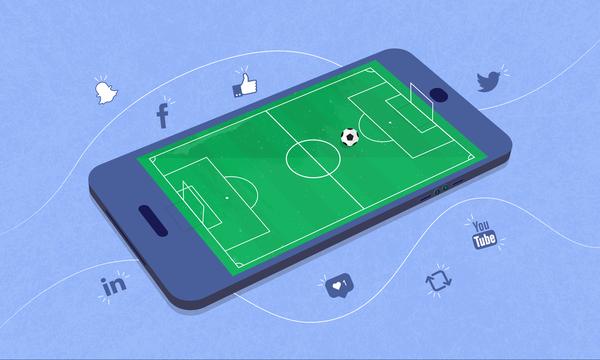 Οι σύλλογοι της Ευρώπης έχουν 1.600.000.000 ακολούθους στα social media!