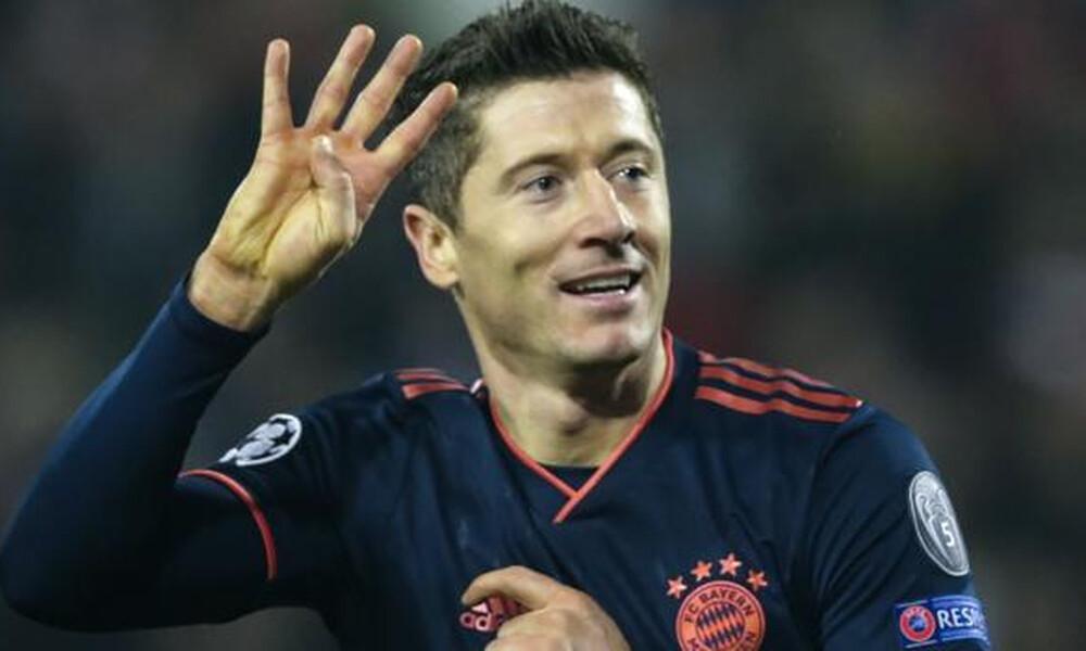 Champions League: Παίκτης της εβδομάδας ο Λεβαντόφσκι (video)