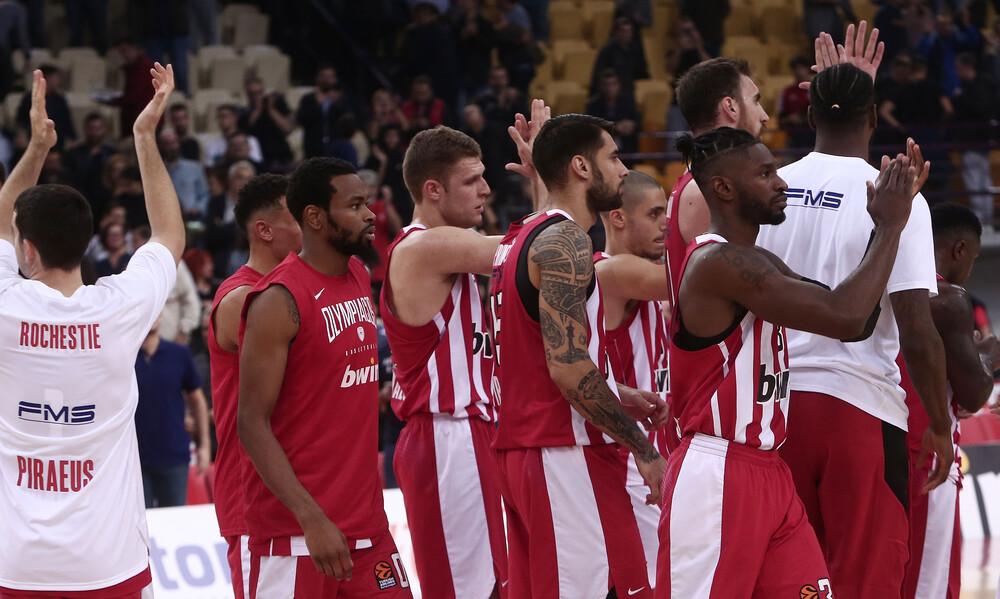 Euroleague: Η βαθμολογία του Ολυμπιακού μετά τη νίκη κόντρα στην Αρμάνι (photo)