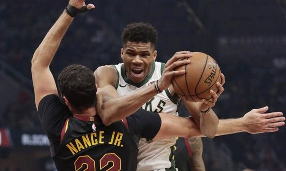 NBA: Ασταμάτητοι Μπακς και Γιάννης (video+photos)