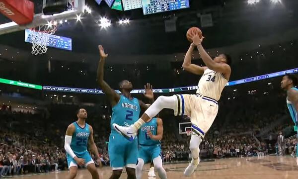 NBA: Με Γιάννη το Top-5 (video)