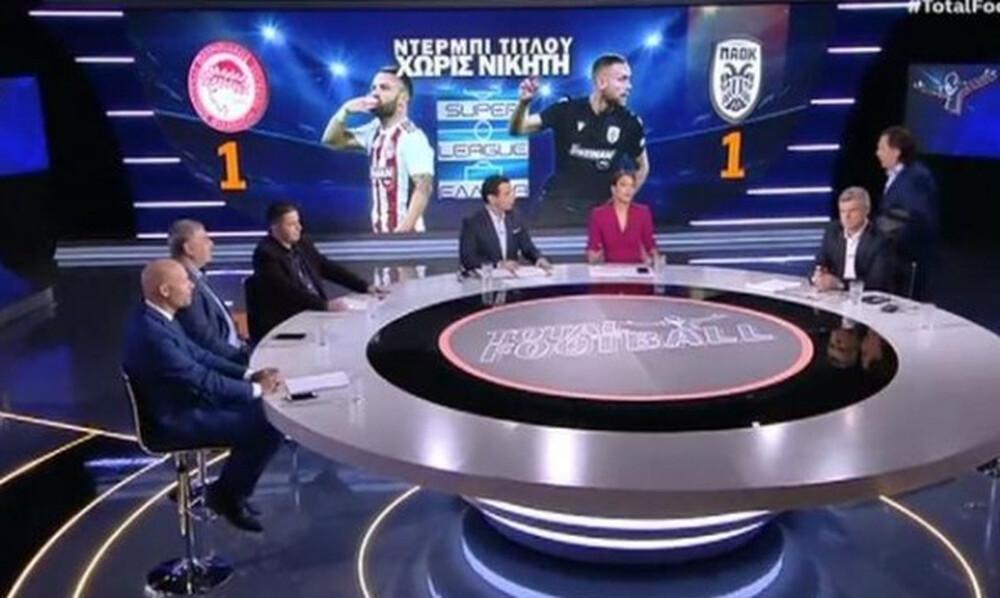 Οριστικό: Τέλος ο Μητρόπουλος από το OPEN TV μετά το Ολυμπιακός-ΠΑΟΚ