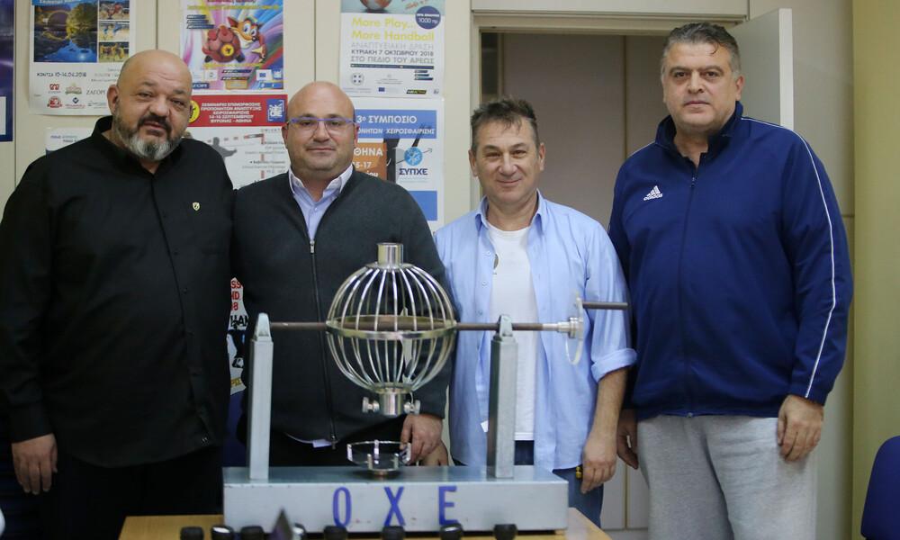 Κύπελλο Χάντμπολ ανδρών: Ντέρμπι «Δικεφάλων» στην κλήρωση των «8»