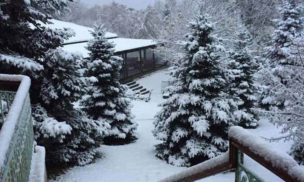 Καιρός: Στα «λευκά» η βόρεια Ελλάδα - Δείτε LIVE πού χιονίζει (pics+vids)