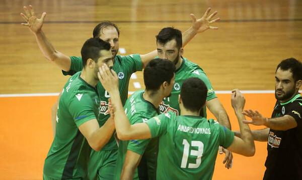Φοίνικας Σύρου-Παναθηναϊκός 3-2: «Γλυκιά» ήττα και πρόκριση στους τελικούς
